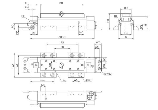 无杆气缸,RTC-BV系列图纸2.jpg